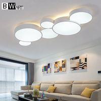 BWART современный светодиодный потолочный Люстра для гостиная вход обеденная Smart светильник для дома Освещение светильники потолок в корридо
