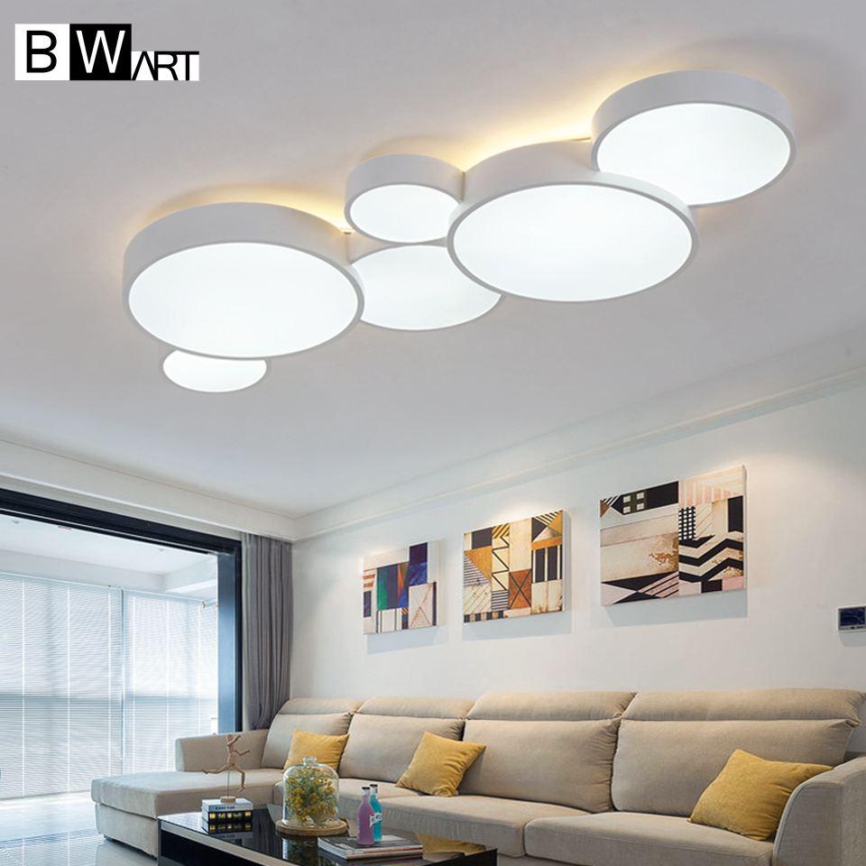 Bwart moderna del soffitto del led lampadario per soggiorno ingresso sala da pranzo casa - Lampadario sala da pranzo ...