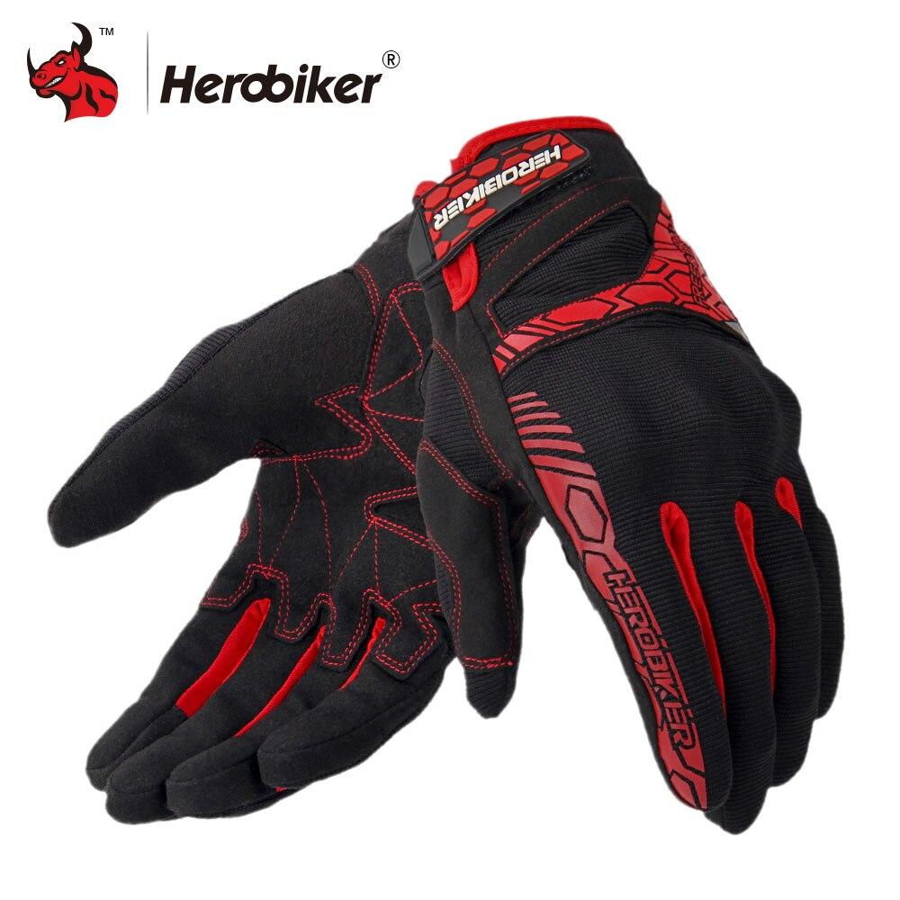 HEROBIKER <b>Motorcycle</b> Gloves Off Road Racing Gloves ...