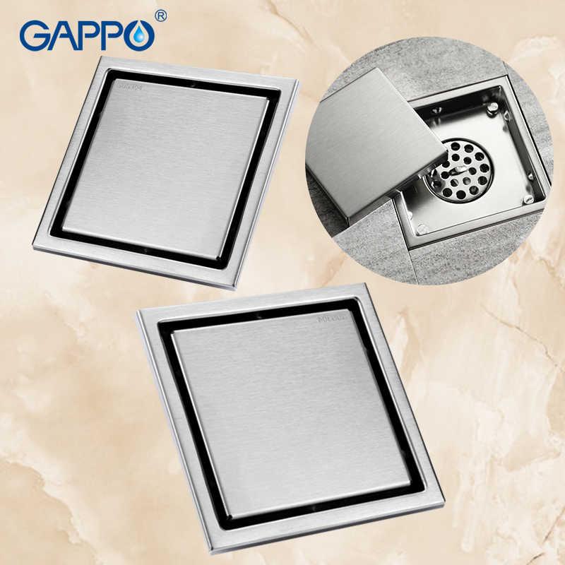 GAPPO 浴室タイル挿入廃棄すのこシャワー排水床ドレンアンティーク Fltro Ducha 排水髪見えない