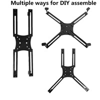 Whole Set VESA Adapter Mount Bracket Kit For Non VESA HP ACER Samsung Dell Asus LCD