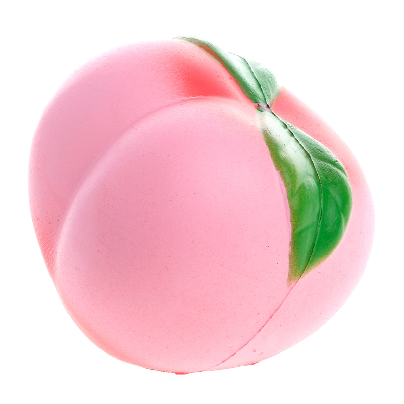 10cm Peach Scented Squishy Super Slow Rising Soft Kid Toy Stress Relieve Gift W15