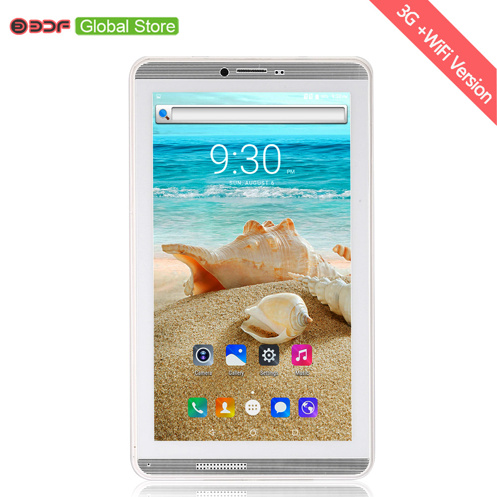 2018 New Design 7 Inch Screen Android 6 0 Phone Call Sim Card Tablet Pc Quad