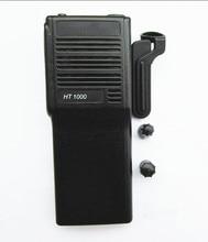 OPPXUN Black Refurbish Housing Kit Case For Motorola Two Way Radio HT1000 Walkie Talkie