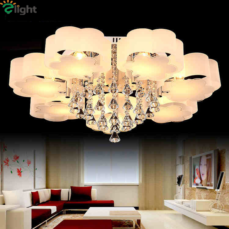 Modern Plum Acrylic Bedroom Led Chandeliers Lighting Lustre Crystal Living Room Dimmable Led Ceiling Chandelie Light FixturesModern Plum Acrylic Bedroom Led Chandeliers Lighting Lustre Crystal Living Room Dimmable Led Ceiling Chandelie Light Fixtures