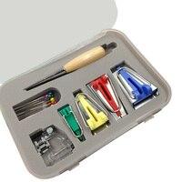 16Pcs Sewing Quilting Hemming Binding Tool Accessory Set Bias Tape Binding Presser Foot Bias Tape Maker