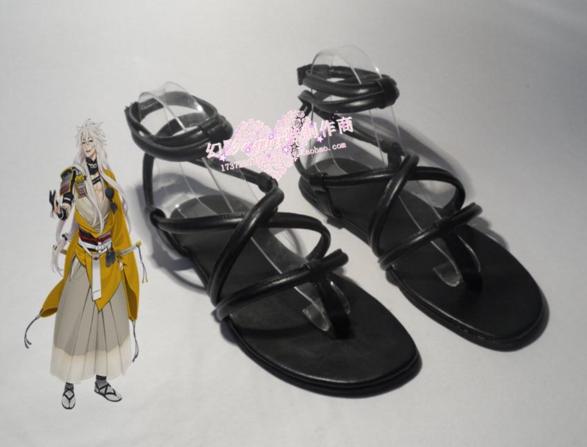 Touken Ranbu Online The sword dance kogitsunemaru cosplay Shoes Boots Custom-Made