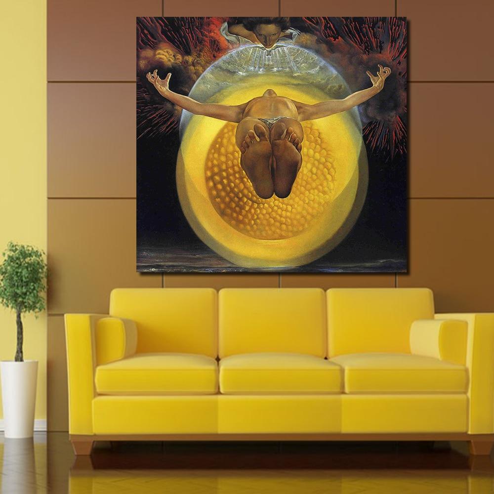 JQHYART Surrealistic Style Salvador Dali Works Home Decor Oil ...