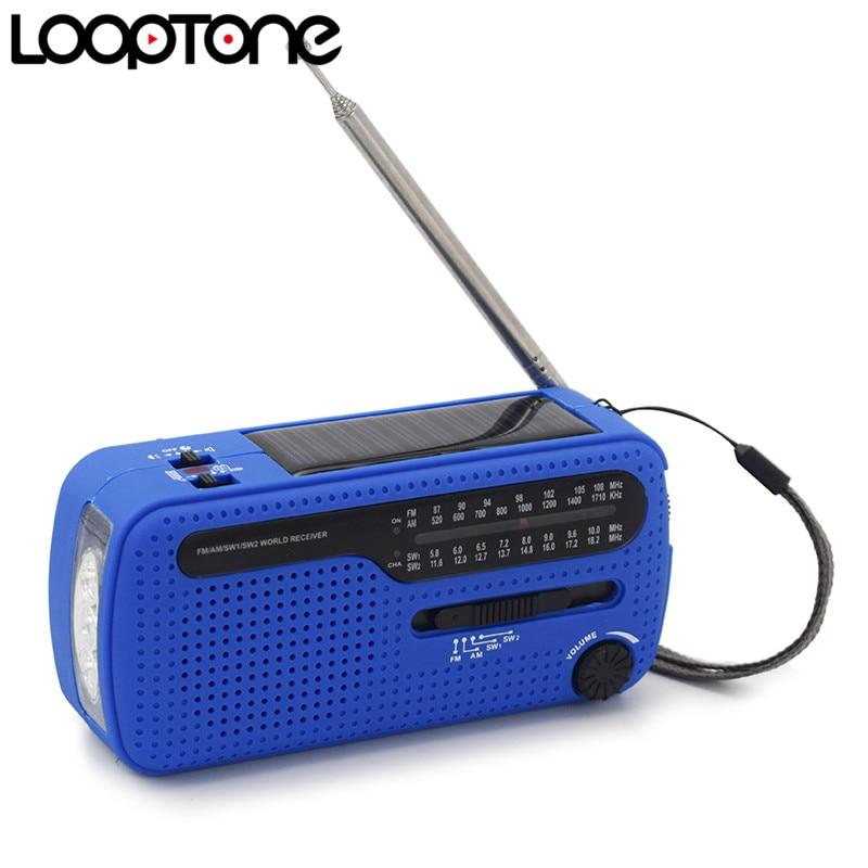 LoopTone FM / AM / SW Modtager Bærbar Stereo Radio Til Udendørs - Bærbar lyd og video