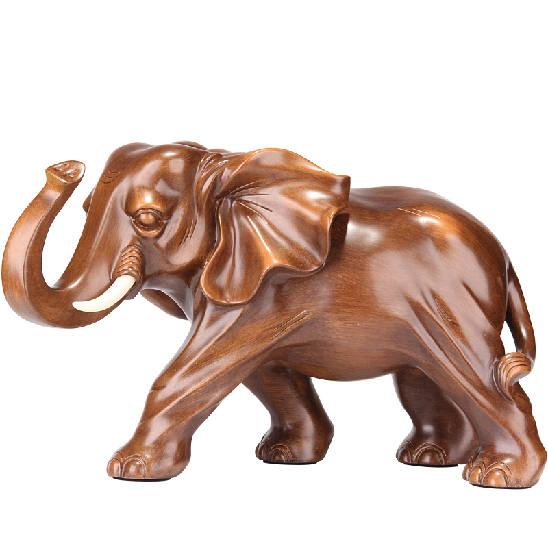 Elefante in resina Figurine Casa Artigianato Statua di Soggiorno Feng Shui Elephant Giardino di Casa Ufficio Decorazione Desktop di R530Elefante in resina Figurine Casa Artigianato Statua di Soggiorno Feng Shui Elephant Giardino di Casa Ufficio Decorazione Desktop di R530