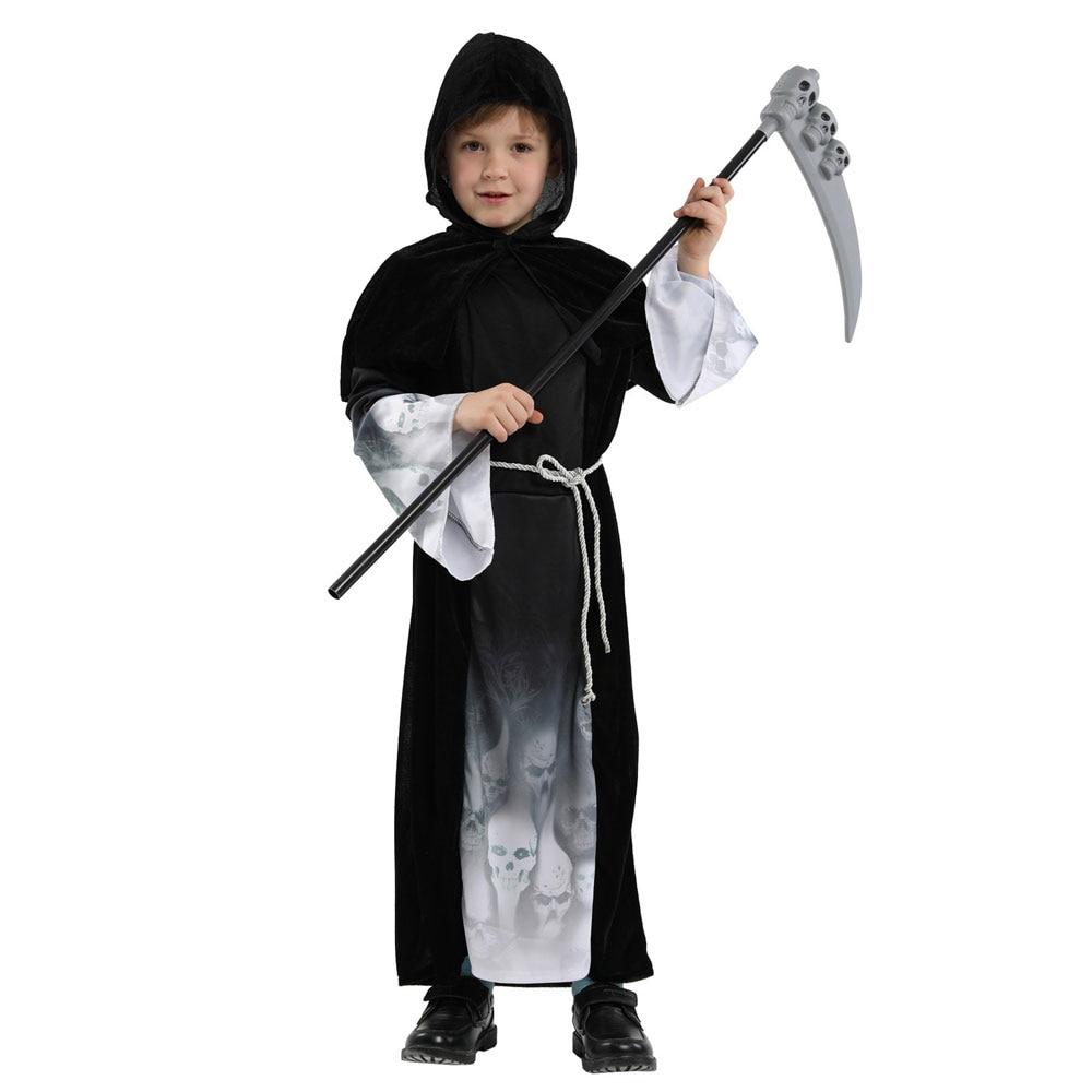 Boys Grim Reaper Halloween Costume 2