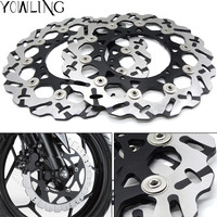 CNC Motorcycle Front Brake Disc Brake Rotors For YAMAHA YZF R1 YZF R1 YZFR1 2004 2005