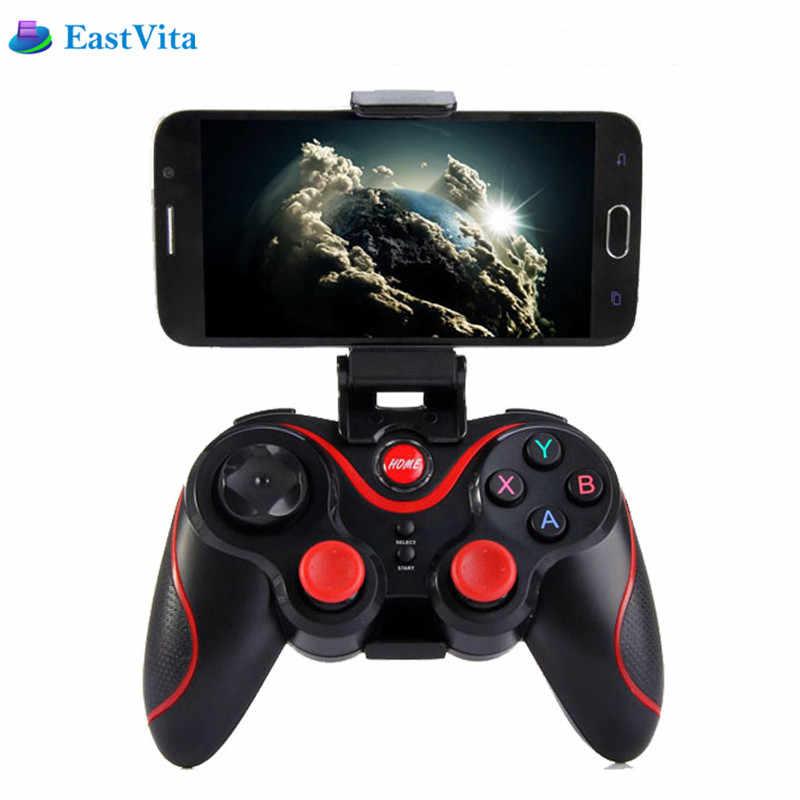 EastVita T3 игры Управление Лер Smart Беспроводной джойстик Bluetooth для ios Android геймпад Gaming дистанционного Управление ПК телефон