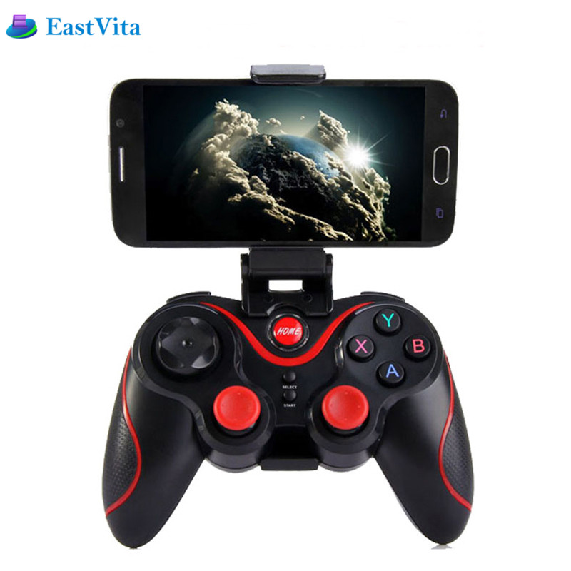 EastVita T3 Smart Phone Game Controller Wireless Joystick Bluetooth ios Android Gamepad Gaming Remote Control for PC Phone Table