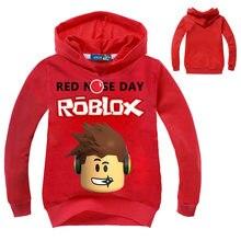 810b86ed291 2018 новые детские светлячки красный нос дневной пуловер толстовка с  капюшоном для мальчиков и девочек Осенняя