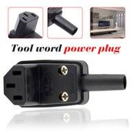 AC Power Plug 90 Degree Angled IEC 320 C13 Female Plug 3 pole AC 10A  90 Degree Angled IEC 320 C13 Female Plug AC 10A [category]