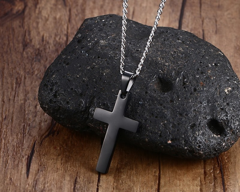 black-titanium-cross-pendant-necklace-1