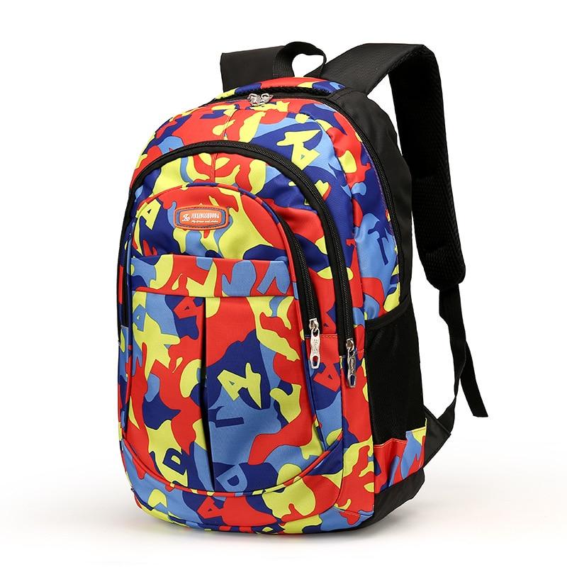 Children school bags boys girls waterproof printing backpacks travel bag kids Satchel Knapsack Mochila schoolbag laptop backpack