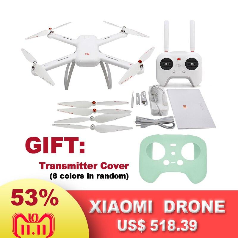 Original Xiao mi Drone WIFI FPV con 4 K 30fps P y cámara 1080 p 3-Axis Gimbal RC Racing Cámara Drone Quadcopter grabación de vídeo
