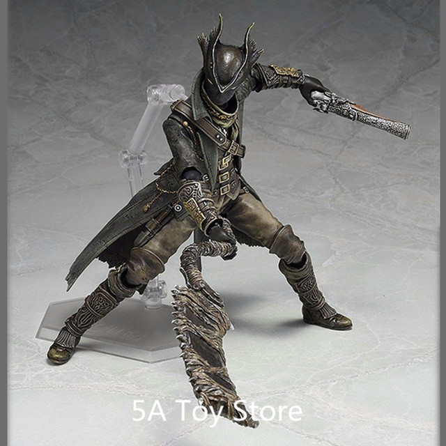 PS4 Bloodborne Games Figure Hunter Figma 367 PVC Action Figure Model Collection Toy Doll Gifts 15CM