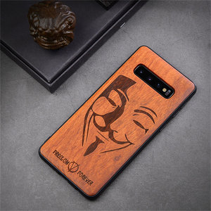 Image 4 - New For Samsung Galaxy S10 Case Slim Wood Back Cover TPU Bumper Case For Samsung S10 Samsung s20 plus s20 ultra Phone Cases