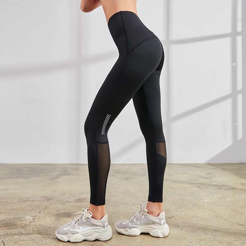 <font><b>Women's</b></font> <font><b>Sexy</b></font> Mesh <font><b>Yoga</b></font> <font><b>Leggings</b></font> <font><b>High</b></font>-<font><b>Waist</b></font> <font><b>Fitness</b></font> Gym <font><b>Pants</b></font> Reflective Running Jogging Stretchy Sports Trousers 2019 Vansydical image