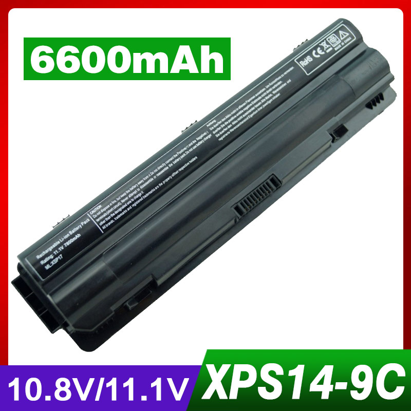 6600mAh 9 cells Laptop Battery for Dell XPS 14 15 17 L501X L502X L701X L702X L401X L501X L502X J70W7 JWPHF 312-1123 R4CN5 jigu laptop battery for dell xps 14 15 17 l502x l702x l501x l701x 312 1123 l401x 453 10186 j70w7 jwphf 312 1127 r795x whxy3