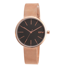 hot deal buy 2018 watch luxury brand unisex popular womens watches quartz stainless steel dial leather band wristwatch mesh band watch