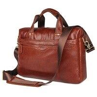 Luxury Men Briefcase Genuine Leather Messenger Laptop Bag Business Briefcase Bags Computer bag for Document Shoulder Handbags