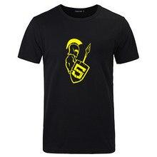 New Summer T-Shirts JS Shield Javascript Front Programmer Ancient Roman Warrior T shirt Men's Cotton Short Sleeve T-Shirt