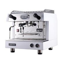 Commercial Espresso Coffee Maker Semi-automatic Coffee Machine 6.6L Italian Style Coffee Machine with Milk Foam Function DZ-1A