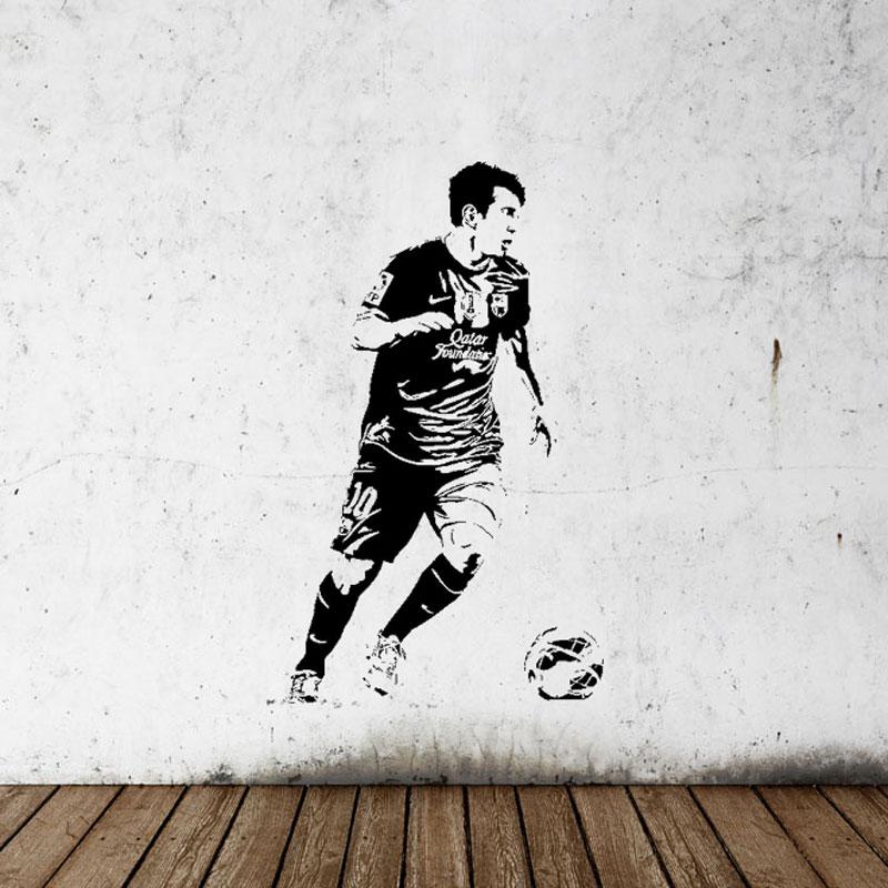 soccer stars SPORT GYM póster decoración del hogar calcomanía - Decoración del hogar - foto 4