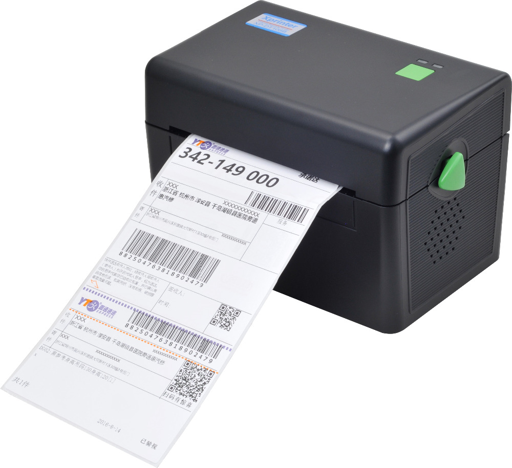 ITPP072 High Quality 108mm 4 inch Thermal Label Barcode Printer USB Port For Delivery Logistics Waybill free software цена и фото