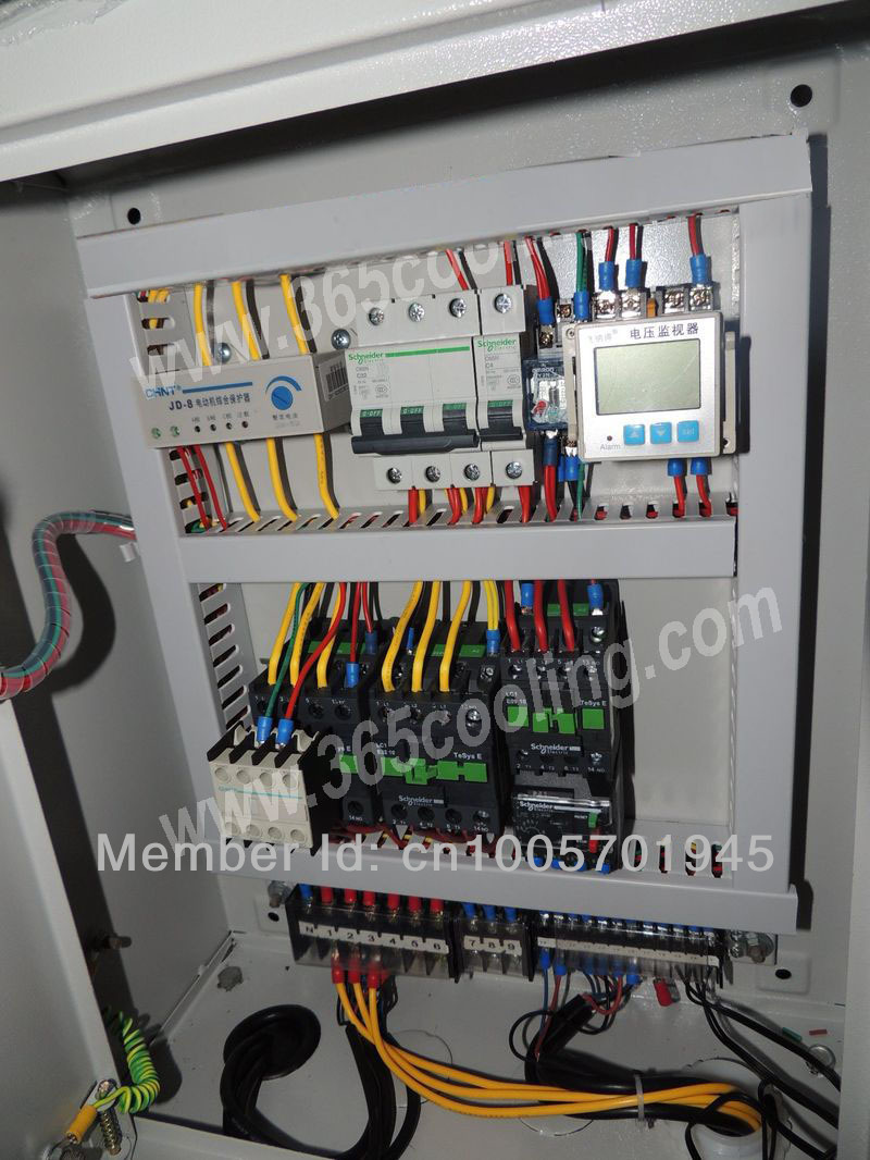 8hp electric control system for cold store and freezer room refrigeration system [ 800 x 1066 Pixel ]
