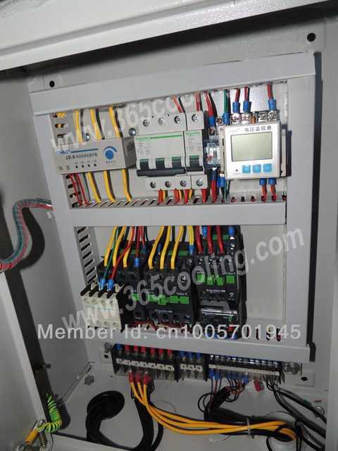 8HP electric control system for cold store and freezer room     8HP electric control system for cold store and freezer room refrigeration  system