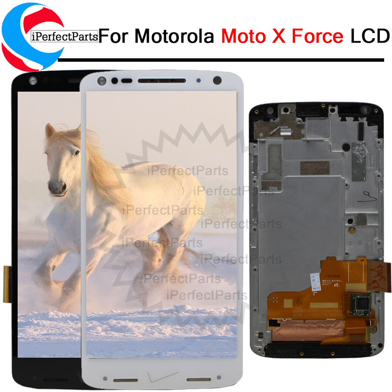 5.4'' For Motorola Moto X force XT1580 lcd Display For Motorola Moto X FORCE LCD with Touch Screen Digitizer replacement + tool-in Mobile Phone LCD Screens from Cellphones & Telecommunications    1