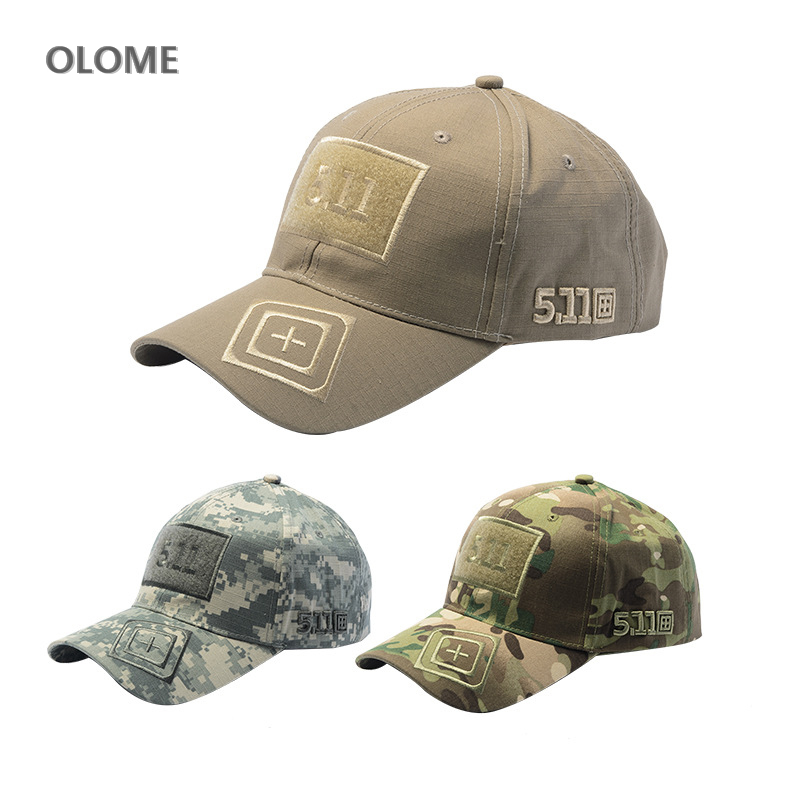 Army Camouflage   Baseball     Cap   Unisex 511 Tactical   Caps   Outdoor Sport Training Snapback Hat Jungle Camo Hunting hiking Hats Mens