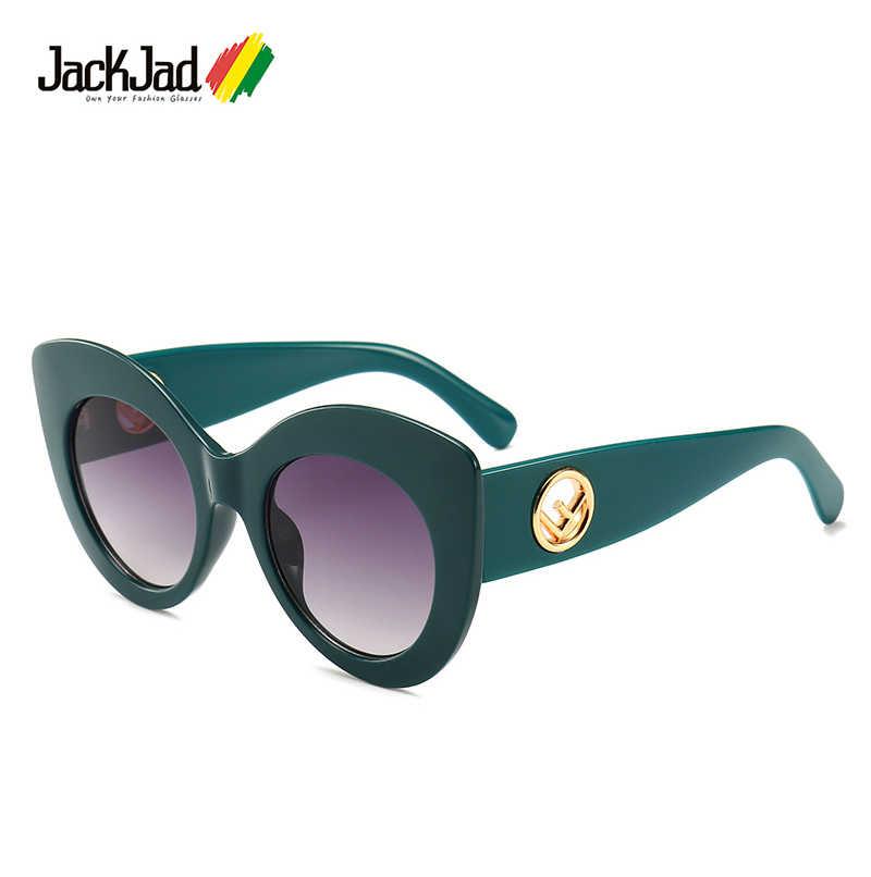 c6ddd2ae6db1 JackJad 2019 Women Fashion Modern Cat Eye Style Sunglasses Vintage Classic Gradient  Brand Design Sun Glasses