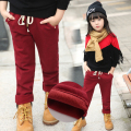2016 New Arrival Children Plus velvet thickening Winter Boys and girls Pants girl legging boy Pants Winter Warm Pants