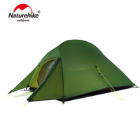 Naturehike Cloud UP 1 2 3 Persons Camping Tent Outdoor Camp 20D Nylon Ultralight Tent Winter Camping Tent With Mat