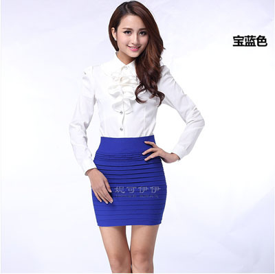 135g high quality! fashion high waist short skirt lady skirts/work ...