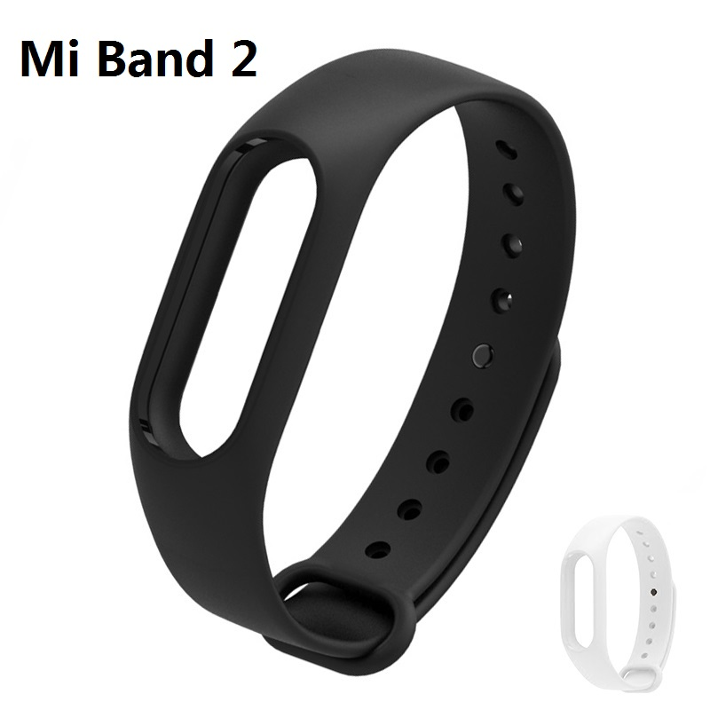 Mi Band 2 Strap BINZI Original For Xiaomi Mi Band 2 Bracelet Silicone Wristband Rubber Gel Skin Sport Miband 2 Accessories Cheap