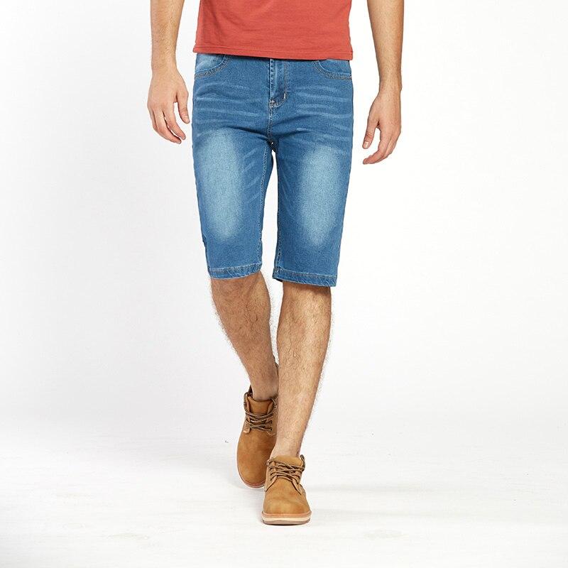 714e11f23bec Προϊόν - Drizzte Brand Mens Lightweight Stretch Denim Jean Shorts Blue  Short Plus Size Jeans for Men Summer Mens Short Pants Trouser