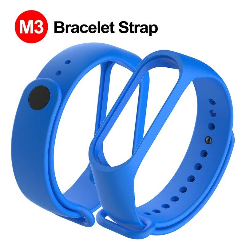 Silicone Smart Wrist Strap Replacement Smart Bracelet Strap Adult Children Smart Accessories For M3 Plus Smart Wristband Strap