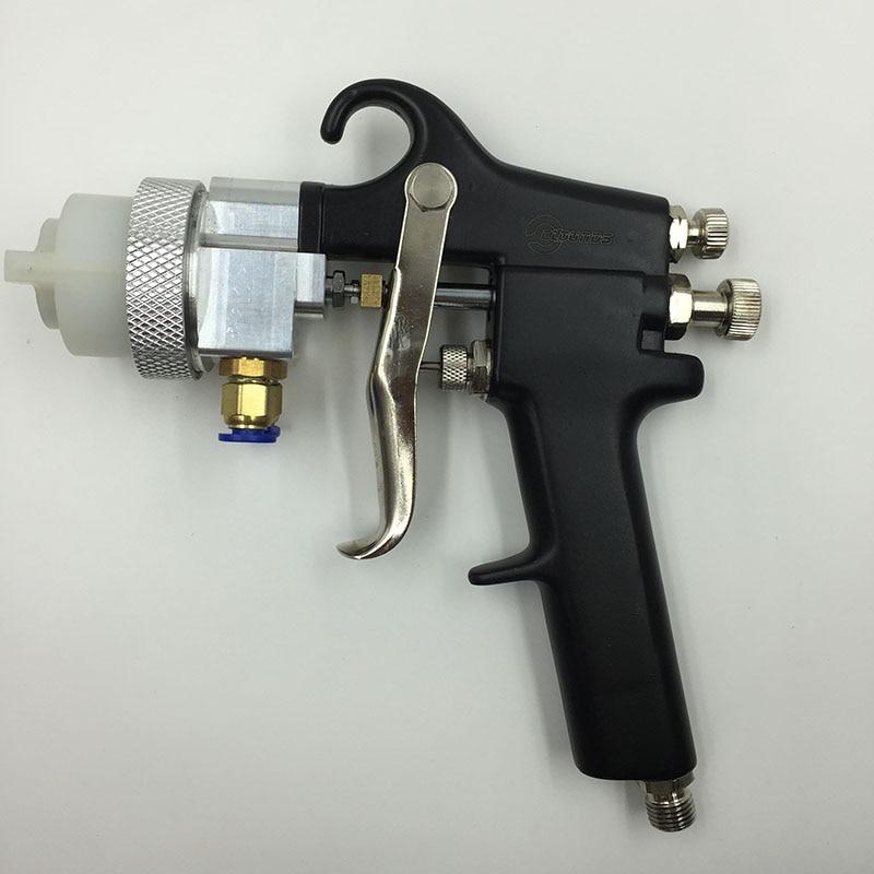 SAT1182 Pistola de pulverización de doble boquilla Alimentación de - Herramientas eléctricas - foto 3