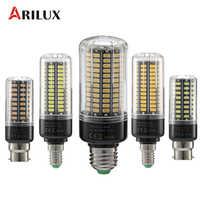 ARILUX llevó la luz de bulbo E27 E14 B22 5 W 7 W 9 W 12 W 15 W 18 W SMD5736 bombilla LED de corriente constante sin parpadeo AC85-265V