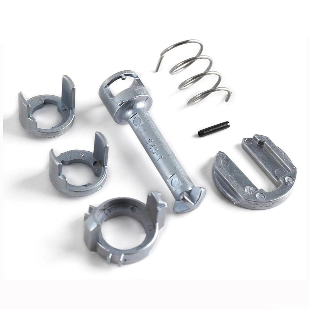 7 pçs/set Metal Porta de Bloqueio Do Cilindro Barrel Kit De Reparo Para O BMW E46 3 Series M3 Dianteira Direita/Esquerda