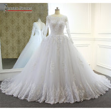 AMANDA NOVIAS Customer Lace Actual Full Wedding Dress