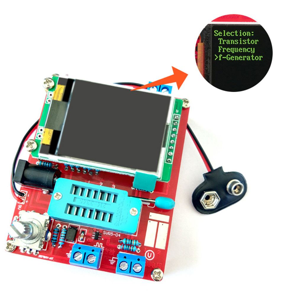 цена на Multifunctional Tester GM328 Transistor Tester Diode Capacitance ESR Voltage Frequency Meter PWM Square Wave Signal Generator