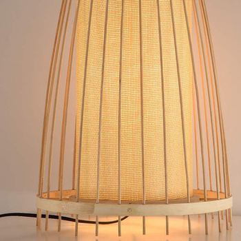 Japanse Bamboo led Vloerlamp 5